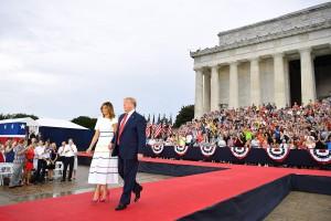 Trump e Melania
