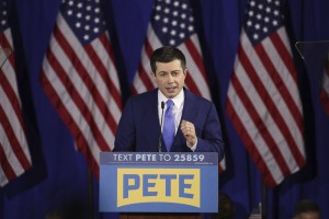 Elezioni Usa 2020, Pete Buttigieg in campagna elettorale Elezioni Usa 2020, Pete Buttigieg in campagna elettorale