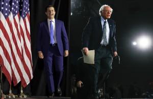 Buttigieg e Sanders