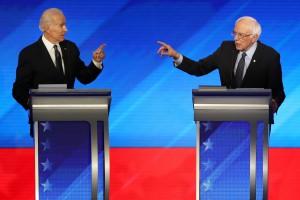 Biden e Sanders