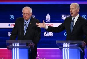 Sanders e Biden_CNBC