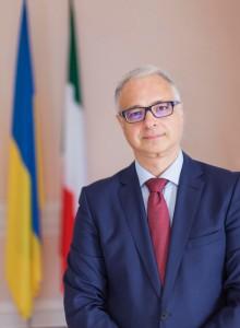 Yevhen Perelygin, Ambasciatoreucrrainoin Italia
