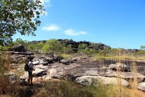 Trekking ad Arnhem Land in cerca di gallerie rupestri