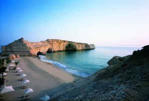 Shangri_La Muscat - Al Husn private beach