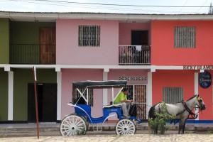 A Granada anche i locali usano la carrozza