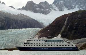Il fiordo del ghiacciaio Pia nel canale di Beagle