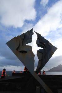 L'albatros in memoria dei naufraghi di Capo Horn
