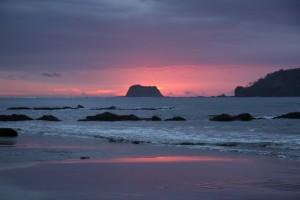 Tramonto a Playa Carillo. Foto di Elena Pizzetti