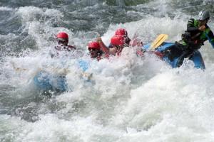 Rafting lungo le rapide del fiume Sarapiquì. Foto Pozo Azul