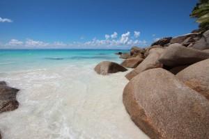 Anse Georgette, tra le spiagge più belle del pianeta. Credit: Elena Pizzetti