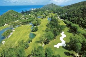 Il Campo da Golf da 18 buche è l'unico regolamentare delle Seychelles