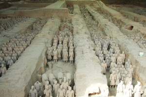 8.000 guerrieri formano l'Esercito di Terracotta. credit: Elena Pizzetti