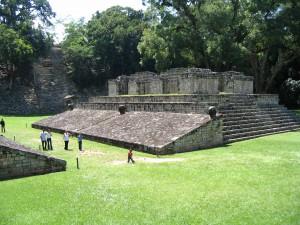 Honduras Copan campo di pelota copia