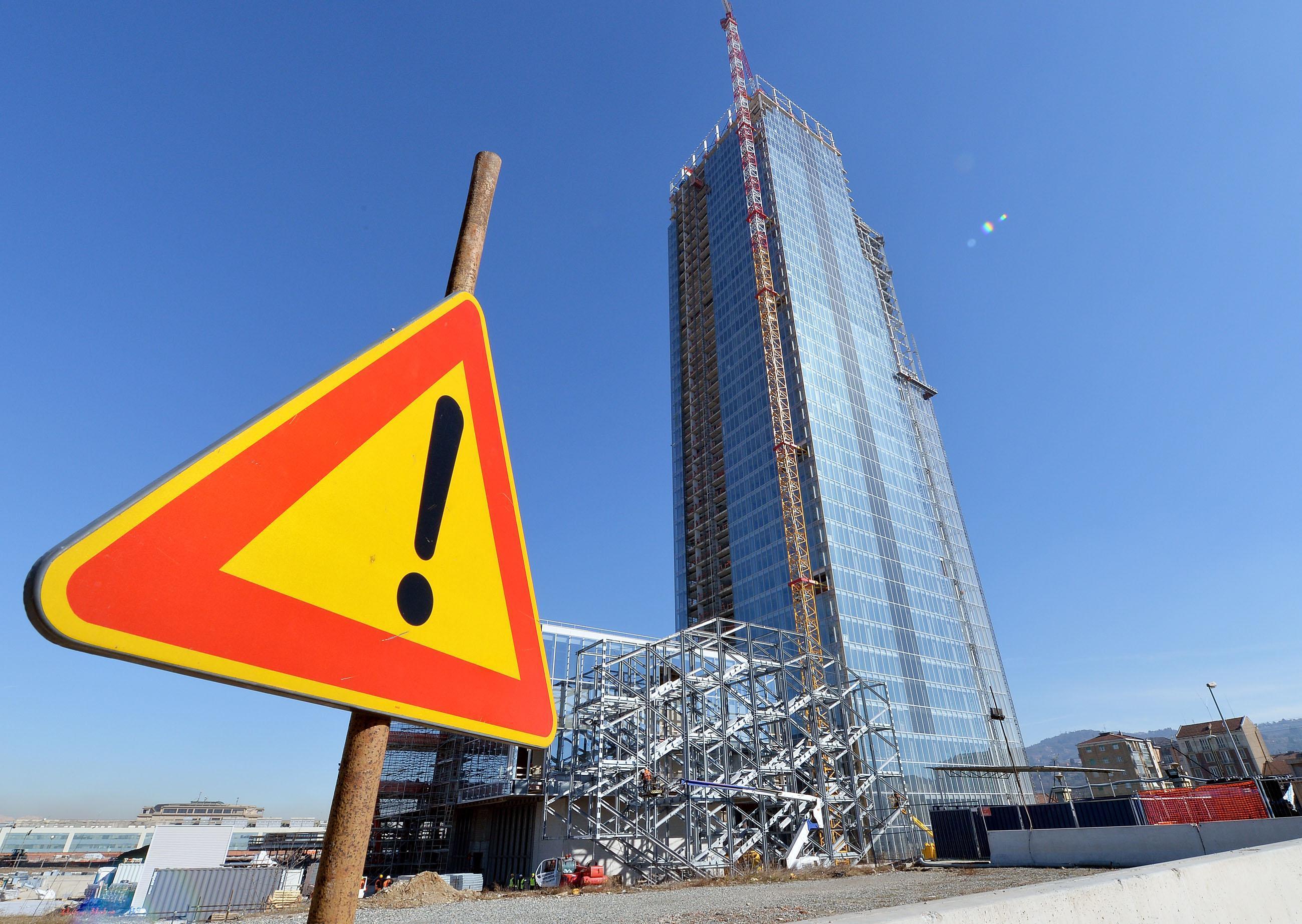 Visita cantiere del nuovo grattacielo della Regione Piemonte