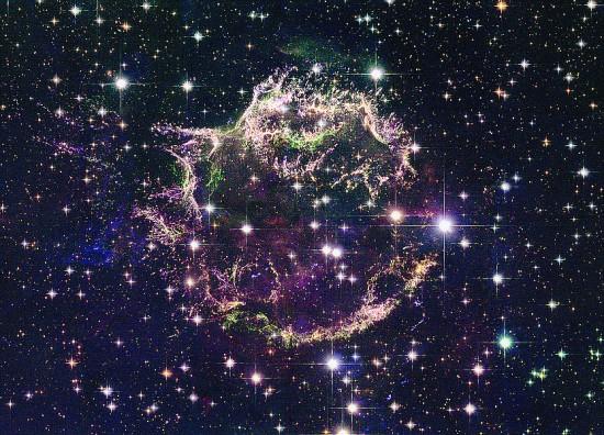 SCIENCES-SPACE-SUPERNOVA