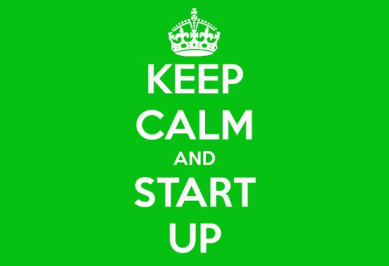 keep calm and start up