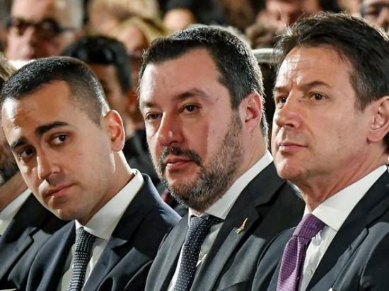 Di Maio-Salvini-Conte