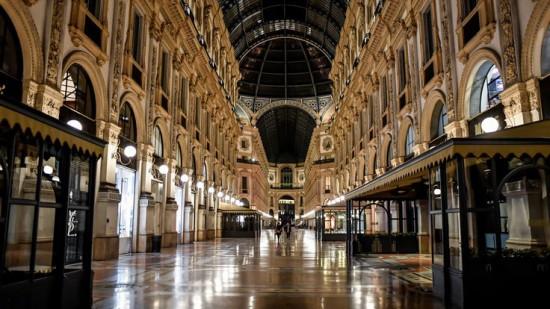 Milano deserta